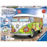 Ravensburger 125326 VW T1 Hippi autóbusz