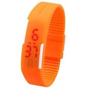 New Watch Fashion Ultra Thin LED Watch Unisex Digital Sports Watch For Men Women Kids - Assorted Color