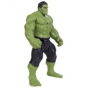 Avengers(Super Power Hero) with Voice - 28 Cms with LED light on chest with Hands Legs Movable