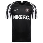 Nike F.C. Trainingsshirt Thuisshirt - Zwart/Wit