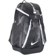 Nike NK HPS ELT MAX AIR - AOP 37 L Backpack(Black, White)