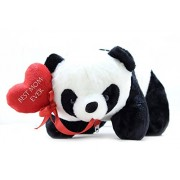 Tickles Panda with Best Mom Ever Heart Soft Stuffed for Mummy Mothers Day Special Gift cm