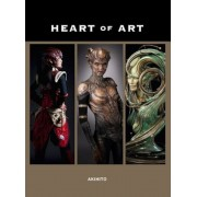 Heart of Art: Welcome to a Small Glimpse Into the Grand World of Special Effects Makeup and Fine Art of Akihito, Paperback