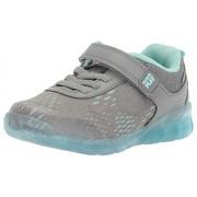 Stride Rite M2p Zapatillas de Neo para niños, Gris/Azul, 11.5MUS Niño Pequeño