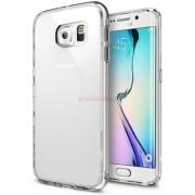 Protectie spate Ringke Fusion Crystal View 555734, folie inclusa, pentru Samsung Galaxy S6 Edge (Transparent)