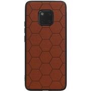 Wicked Narwal Hexagon Hard Case voor Huawei Mate 20 Pro Bruin