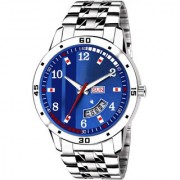 Lava Creation Analogue Blue Dial Day And Date Function watch for Gentlemen Premium Quality Men's Watch ( 2033-BL )