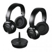Комплект безжични слушалки, HAMA, Thomson WHP3203, безжични, PPL технология осигурява подтискане на страничен шум, (черен)