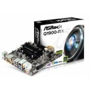 Tarjeta Madre ASRock mini ITX Q1900-ITX, Intel J1900 Integrada, HDMI, USB 3.0, 16GB DDR3, para Intel