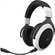 Безжични геймърски слушалки Corsair HS70 White