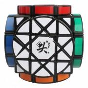 DaYan 90mm Wheel of Wisdom Smooth Speed ??Magic Cube Puzzle Toy para Ninos? Adultos - Negro