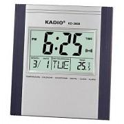 New KADIO Branded Jumbo Digit Digital Wall clock/Timer/Alarm/Date/Month/Year Plus Room Thermometer Model 3808/3810