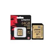 Cartao De Memoria Classe 10 Kingston Sda10/64gb Secure Digital Ultimate Sdxc 64gb Uhs-I