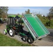 príves tandemový vyklápací pre traktor GEO RM25