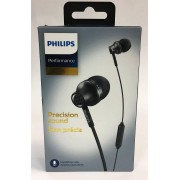 Philips SHE9105 In-ear Headphones Features a microphone & remote Black