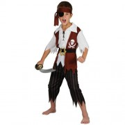 Wicked Costumes Cutthroat Pirate Boys Medium (5-7 Years) Fancy Dress Kids Costume Childs Outfit