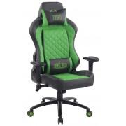 Sedia Gaming Rapid in Similpelle, nero/verde CLP, nero/verde, altezza seduta