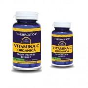 Vitamina C Organica 60 +10 cps Herbagetica