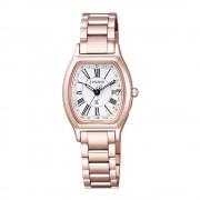 CITIZEN/シチズン xC(クロスシー) ティタニア HAPPYFLIGHT トノー エコ・ドライブ電波時計 多極受信型 ES9354ー51A