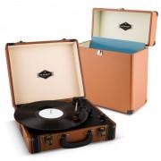 Jerry Lee Record Collector Set brown | Giradischi Retrò | Valigetta per Dischi