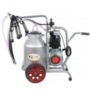 Aparat de muls vaci EMT 1+1A25, 1 post, 1 bidon aluminiu 25 l