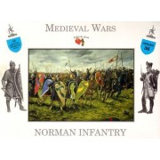 Medieval Wars Norman Infantry 16 Unpainted Plastic Figures 1/32 Scale A Call to Arms Airfix Armies in Plastic...