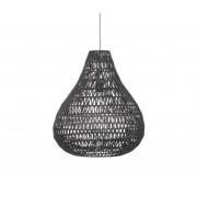 Zuiver Cable Drop hanglamp Ø 45 cm zwart Zwart