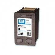 HP : Cartuccia Ink-Jet Compatibile ( Rif. HP 56 BK ( C6656AE ) ) - Nero - ( 520 Copie )