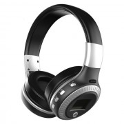 ZEALOT B19 Over-ear Bluetooth Headset with Mic Support TF Card/Aux/FM - Black / White