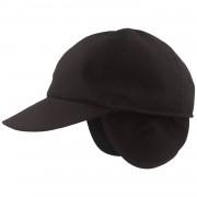 Hut-Breiter GoreTex 6-teilige Baseballcap mit Ohrenschutz / Hut-Breiter Schwarz 60