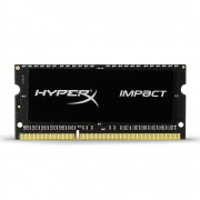 MEMORIA SO-DIMM DDR3L KINGSTON 8GB HYPERX IMPACT APPLE IMAC 1600MHZ 1.35V C9 HX316LS9IB/8