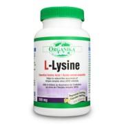 L- Lizina Organika 500 mg 90 capsule