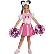 Minnie Mouse Cheerleader Costume - Toddler Small
