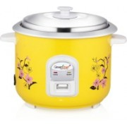Greenchef RC18Y Electric Rice Cooker with Steaming Feature(1.8 L, Yellow)