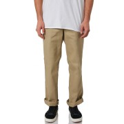 Dickies Original 874 Mens Polyester Cotton Flat Front Work Pants Khaki