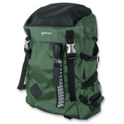 Manhattan 15.6 inch Zippack Notebook Backpack Colour:Black and Green