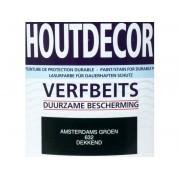 Hermadix Houtdecor verfbeits Amsterdams Groen dekkend