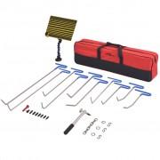 vidaXL 28 Piece Paintless Dent Repair Set PDR Stainless Steel