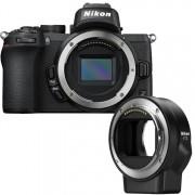 Nikon Z50 body zwart + FTZ adapter