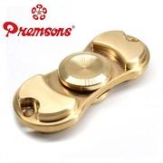 Premsons Fidget Spinner Hand Spinner Ultra Speed Bi-Spinner Toy (Metallic Gold)