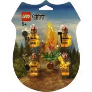 LEGO City Mini Figure Set #853378 Fire Fighters Rescue Pack
