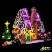 LIGHT MY BRICKS Kit for 10267 LEGO Gingerbread House