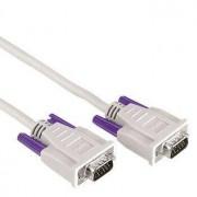 Hama Monitor VGA Connecting Cable,15-pin HDD male - 15-pin HDD male, 1.8m cavo VGA 1,8 m VGA (D-Sub) Grigio