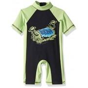Quiksilver Big Spring Boy Protector Solar UPF 50+, Jade (Jade Lime), 3