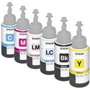 Komplet boja 6x70ml za Epson Ciss štampače ( L800, L805, L810, L850, L1800 )