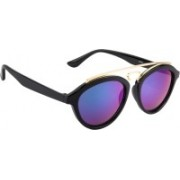 NuVew Oval Sunglasses(Green, Blue)