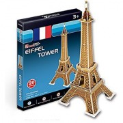 CubicFun 3D Puzzle S-Series Small Eiffel Tower - Paris