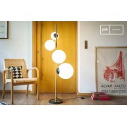 Athezza Lampadaire 4 lampes Canaveral