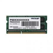Patriot Memory PSD34G1600L2S módulo de Memoria (4 GB, 1 x 4 GB, DDR3L, 1600 MHz, 204-pin SO-DIMM)