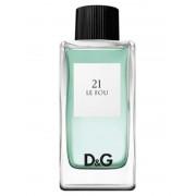 21 Le Fou - Dolce e Gabbana 100ML EDT Campione Originale